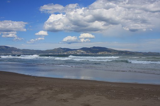 Beach, Sea, St Pere De Pescador, Spain, Water, Sky