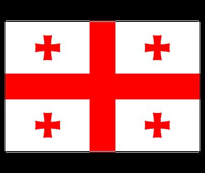 Georgia, Flag, National Flag, Nation, Country, Ensign