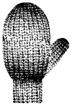 Mittens, Gloves, Knitted, Knitting, Mitten, Warm, Hand