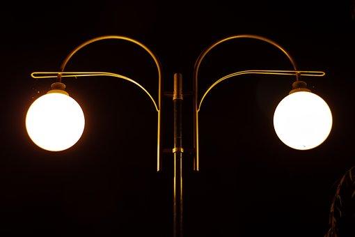 Night, Light, Lamp, Lantern, Dark