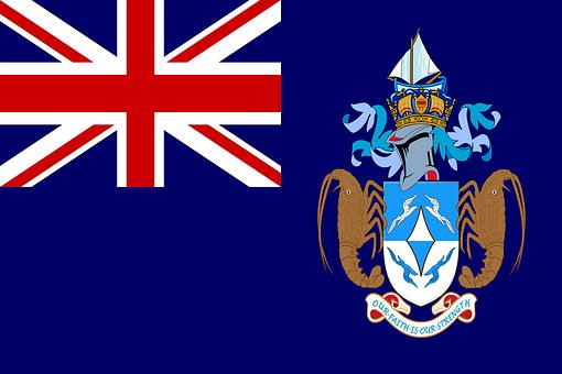 Tristan Da Cunha, Flag, National Flag, Nation, Country