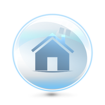 Bubble, House, Air, Protection, Safety, Icon, Lightness