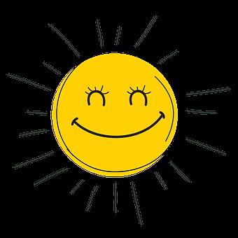 Happy, Smile, Sun, Sunrise, Smiling, Happiness