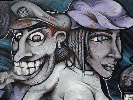 Urban, Urban Art, Mural, Paint, Exterior, Artistic