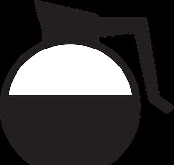 Carafe, Coffee, Diner, Drip, Kitchen, Silhouette
