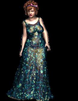 Gown, Dress, Elegant, Luxury, Long