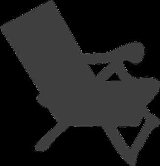 Canvas Chair, Deck Chair, Beach, Summer, Ocean, Garden