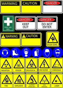 Signage, Safety, Health, Warning, Sign