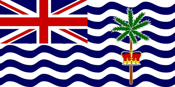 Diego Garcia, Flag, British Indian Ocean Territory