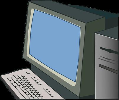 Computer, Server, Monitor, Keyboard