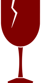 Glass, Fragile, Broken, Cup, Cracked, Wine Glass