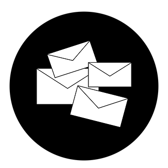 Email, Emails, Email Icon, Letter, Letters, Letter Icon