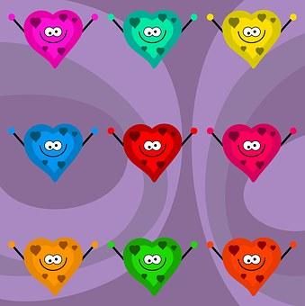 Love, Hearts, Shapes, Symbol, Valentine, Love Heart