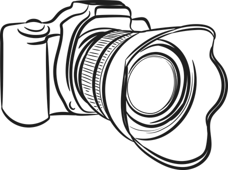 Camera, Figure, Lens, Symbol, Element, Stand-alone