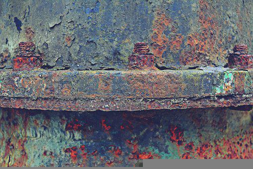 Rusty Pipe, Metal, Structure, Industry, Abandoned, Old
