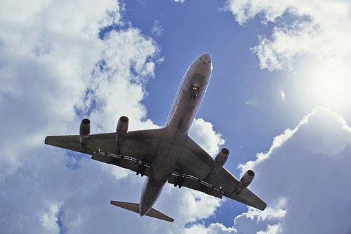 Aircraft, Sky, Aviation, Airport, Transport, Flight