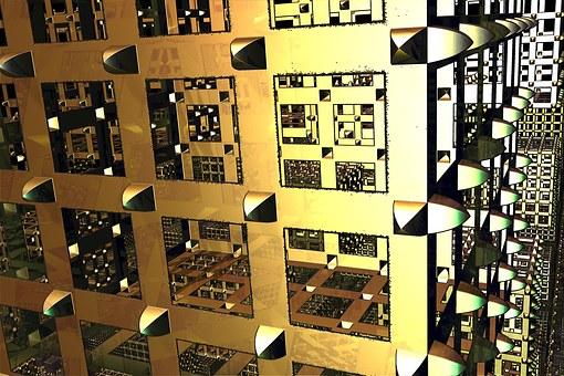 Cube, Design, Technical, Metal, 3d, Shape, Technology