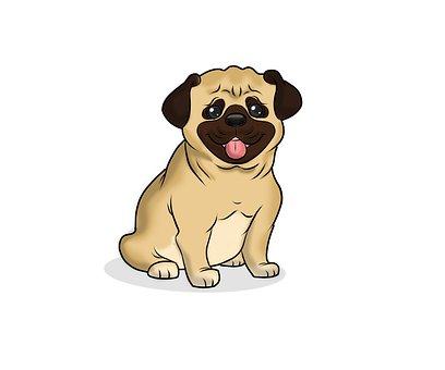 Pug, Dog, Animal, Puppy, Pet, Cute, Funny, Sad, Canine