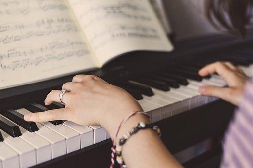 Piano, Music, Keys, Exercise, Pianist, Musician