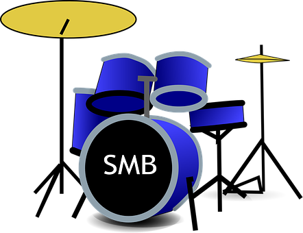 Drum Set, Music, Band, Rhythm, Instrument, Musician