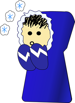 Cold, Person, Winter, Clothing, Blue, Mittens, Coat