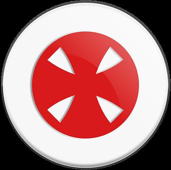 Cross, Templar, Red, Celtic
