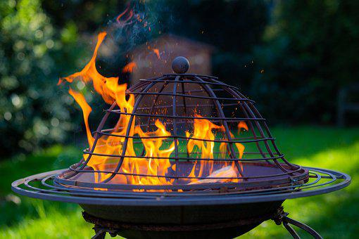 Fire, Fireplace, Campfire, Barbecue, Brand, Flame