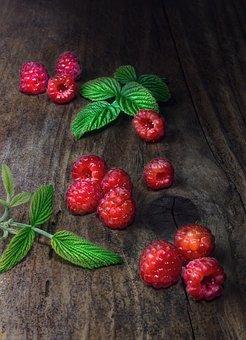 Raspberry, Still Life, Berry, Fruit, Ripe, Red
