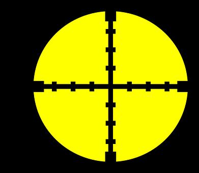 Crosslines, Hairs, Wires, Target, Aim, Sniper, Hunting