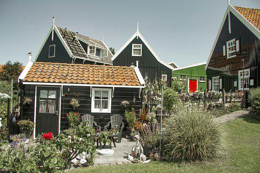 Marken, Netherlands, Holland, Wooden, Historical