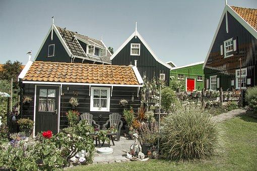Marken, Netherlands, Holland, Wooden, Historical
