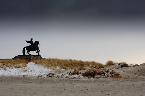 Baltika, Kaliningrad, Storm, Coast, Wind