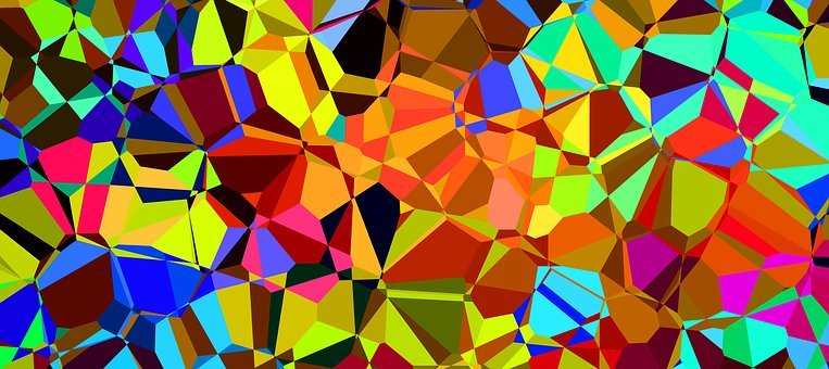 Colorful, Color, Prism, Chromatic, Rainbow, Low-poly