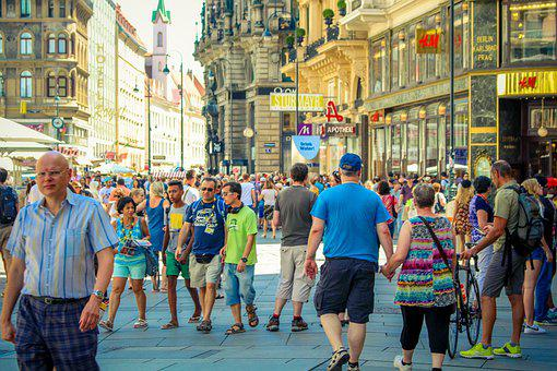 Tourism, Travel, Streets, Street, Building, People