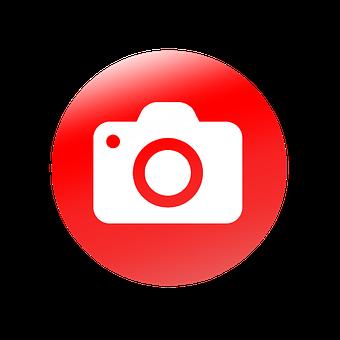 Camera, Photographic, Equipment, Computer Icon, Vector