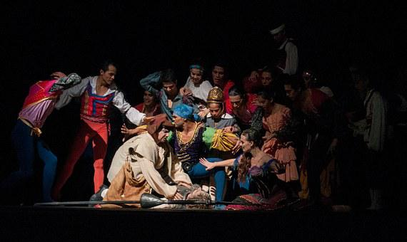 Ballet Don Quijote, Theatre, Performance, Stage, Actors