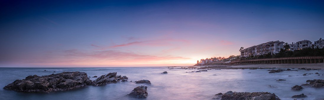Sunset, Beach Hype, Mijas Costa, Malaga, Andalusia