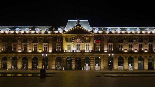 Aubette, Strasbourg, Alsace, Historical, Architecture