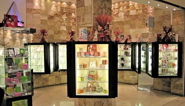 Showcase, Shop, Italy, Mall, Items, Brown Shopping