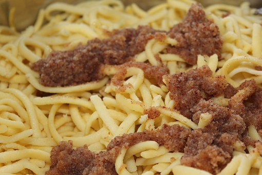 Spätzle, Noodles, Warm Food, Hot Buffet, Buffet