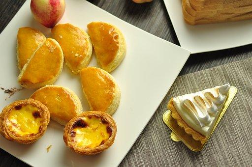 Egg Tart, Aspects Of The Package, Baking, Cake