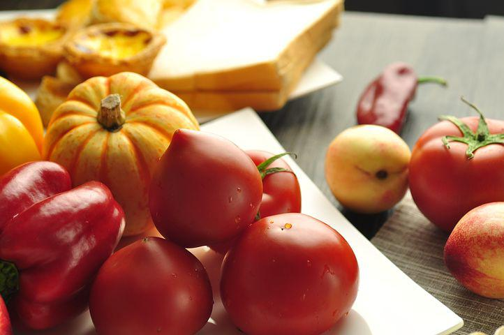 Tomato, Aspects Of The Package, Baking, Cake, Peach