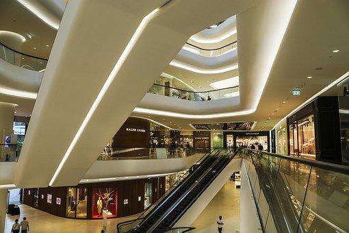 Central Embassy, Mall, Store, Escalators, Shop, Bangkok