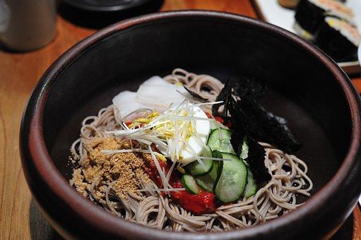 Buckwheat Noodles, Noodles, Food