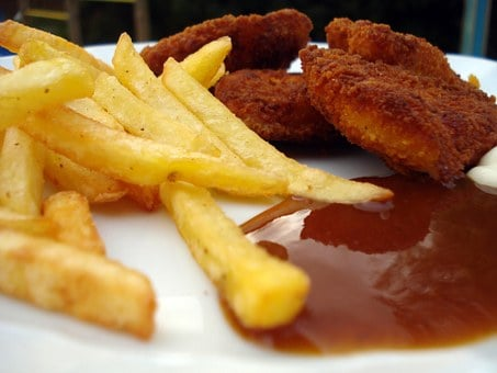 French Fries, Frits, French, Deep Fried, Greasy