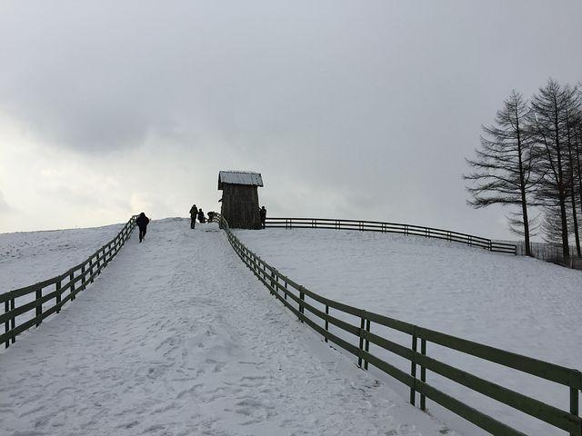 Winter, Landscape, Ranch, Hill, Climb, Method, Snow
