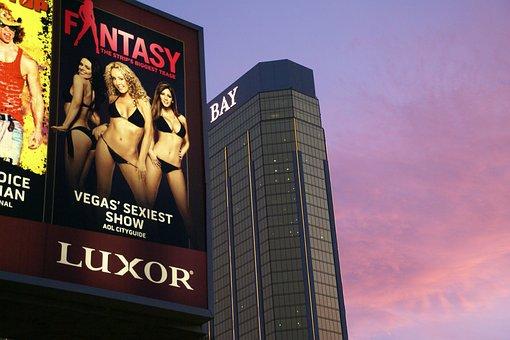 Advertisement, Las Vegas, Mandalay Bay, Nevada, Hotel