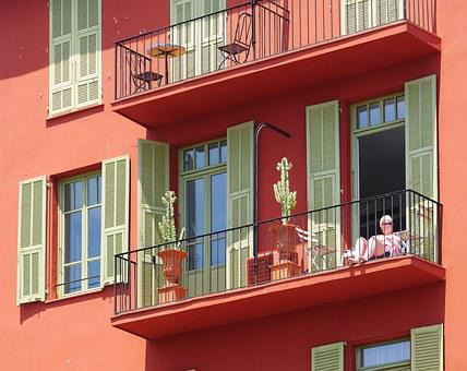Residence, Color, Mediteran, Panel Shops, Balconies