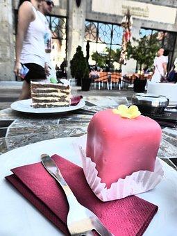 Punschkrapferl, Pastry Shop, Dessert, Sweetness