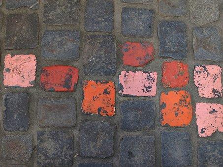 Paving Stones, Ground, Road, Cobblestones, Background